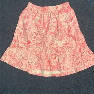 Lilly Pulitzer Size 7 Skirt